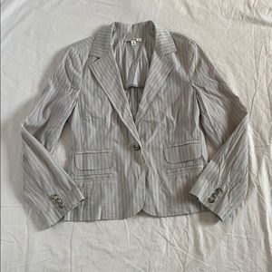 Cabi striped summer breezy lightweight blazer